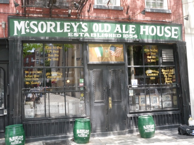 McSorely's Old Ale House
