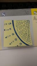 Post-it doodle